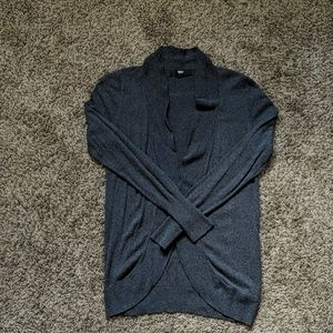 Charcoal light cardigan